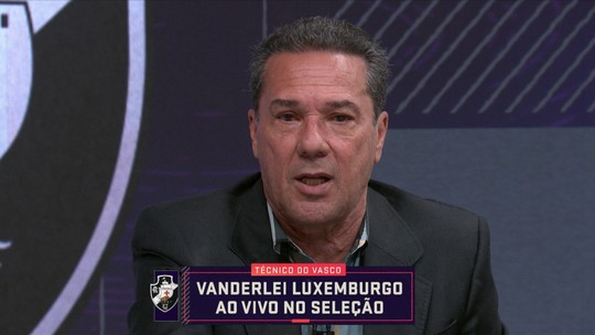 """Luxemburgo critica CBF e fala em ser honesto com torcedor do Vasco: """"Briga é para não cair"""""""