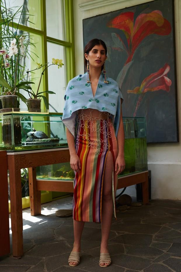 Exposição em Londres faz retrospectiva da cultura têxtil peruana (Foto: Cortesia de Mozh Mozh)