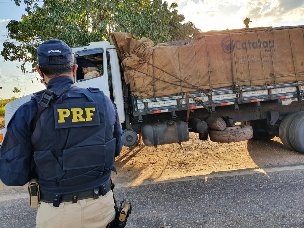 Duas pessoas morreram em acidentes registrados durante o feriado prolongado no Maranhão — Foto: Divulgação/PRF-MA