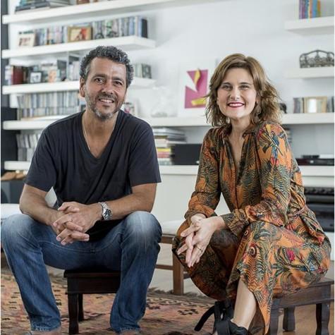 Marcos Palmeira gravou com Simone Zuccolotto para o 'Cinejornal' (Foto: Ana Paula Amorim)