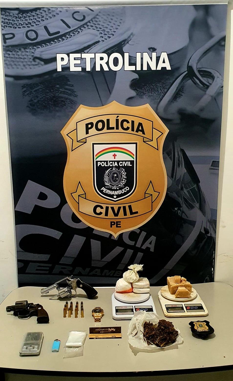 Polícia prende suspeito de participar de homicídio no bairro Gercino Coelho, em Petrolina