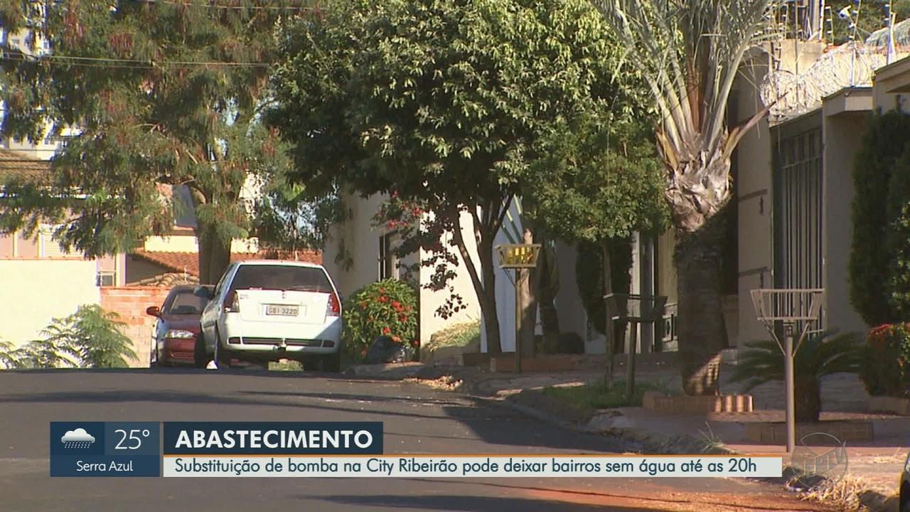 Manutenção em poço pode causar falta d'água em 3 bairros da zona sul de Ribeirão Preto