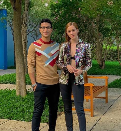 Sérgio Malheiros e Sophia Abrahão (Foto: Reprodução/ Instagram)