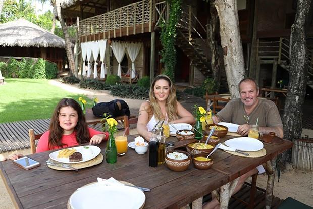 Tânia Mara, Jayme Monjardim e Maysa Monjardim (Foto: Olivardo Vasconcelos)