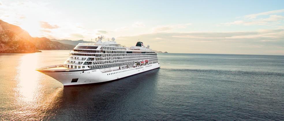 -  Viking Sun deve passar em Santarém em novembro de 2019.  Foto: Companhia Viking Ocean Cruises/Divulgação