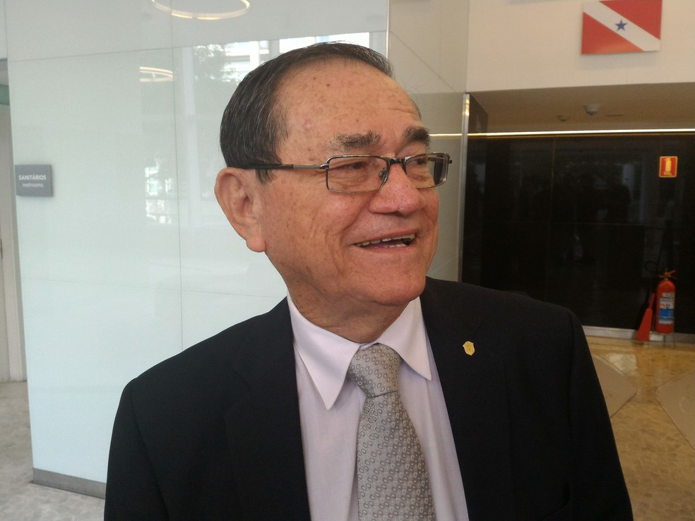 Coronel Antonio Carlos Nunes, atual presidente da CBF (Foto: Vicente Seda)