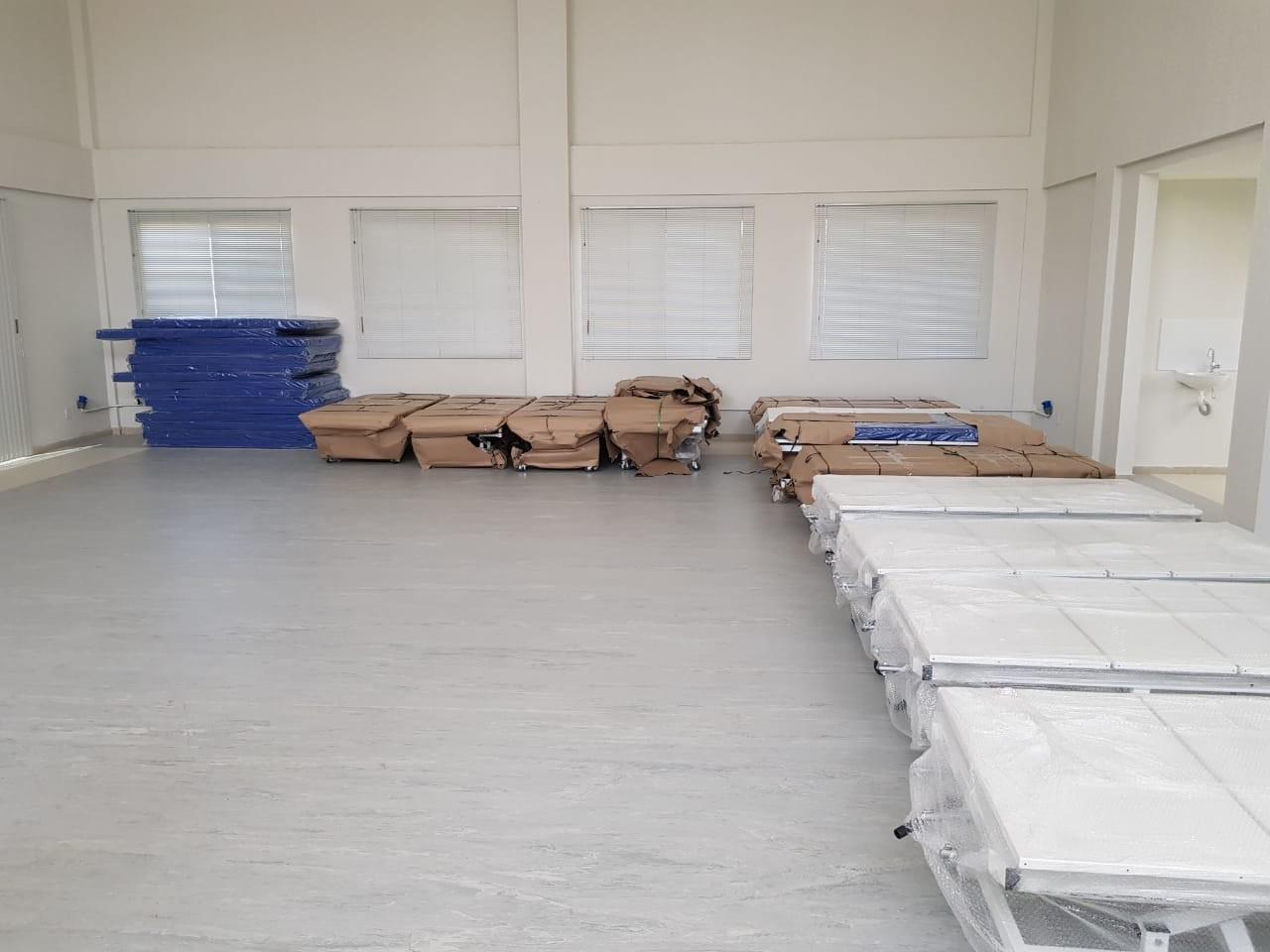 Coronavírus: hospital de campanha de Parnamirim, RN, terá 41 leitos, diz prefeitura