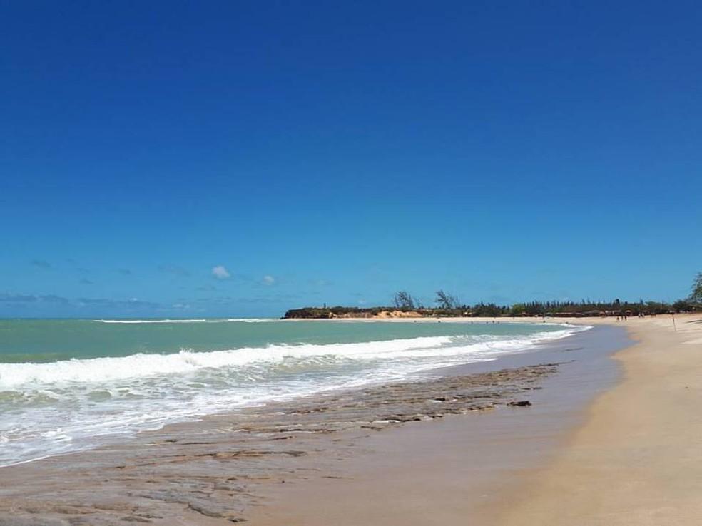 Praia de Tourinho, São Miguel do Gostoso - Rio Grande do Norte (Arquivo) — Foto: Fernanda Zauli/G1