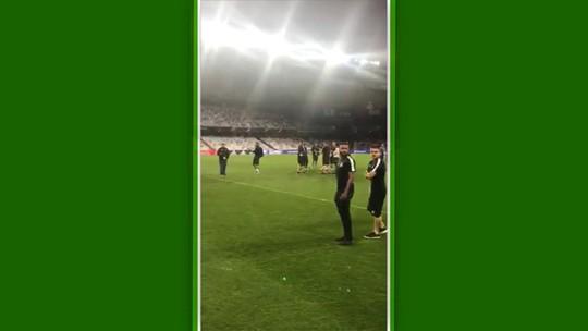 Diário do Mundial: Léo Moura apresenta estádio e pede energia positiva do Brasil