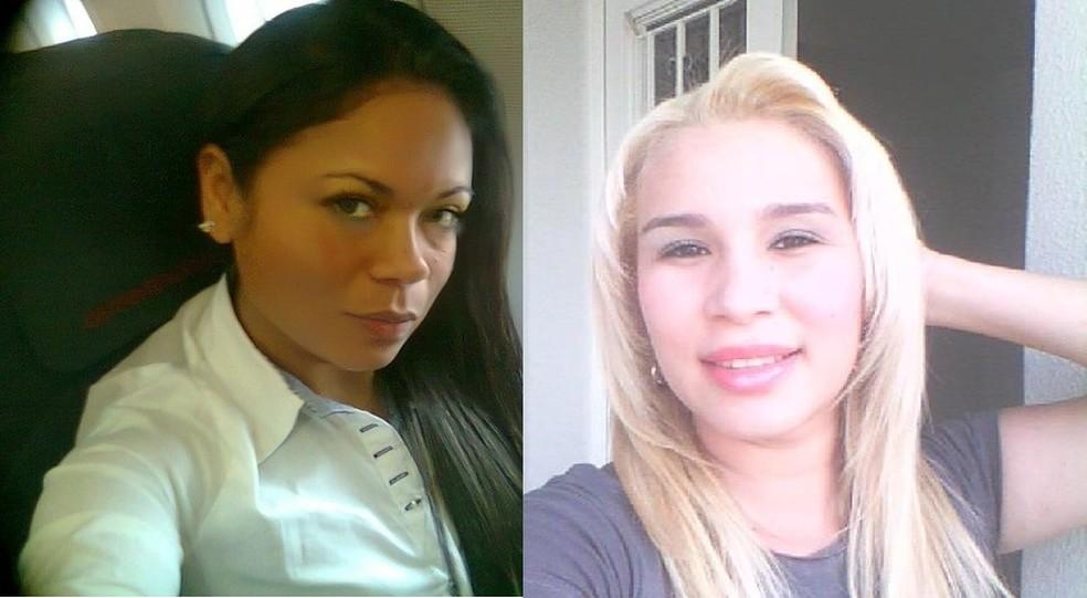 Benildes e Talissa foram mortas e enterradas na casa do suspeito — Foto: Divulgação