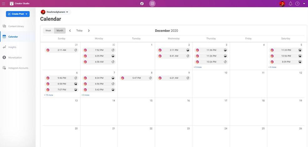 Calendário de postagens pode ser uma das atualizações de 2021 — Foto: Reprodução/Social Media Today