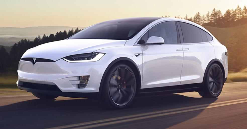 Tesla Model X — Foto: Tesla/Divulgação
