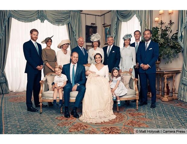 Família real e os parente de Kate Middleton (Foto: Reprodução Instagram)