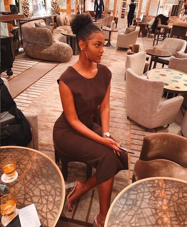 A modelo Dorcas Kasinde, eleita Miss África 2018 (Foto: Instagram)