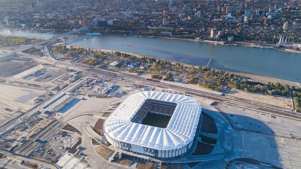 Rostov será o palco da estreia da Copa do Mundo de 2018  (Foto: Divulgação/COL)