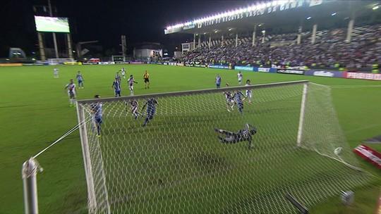 Vasco leva empate nos acréscimos: veja os gols da partida