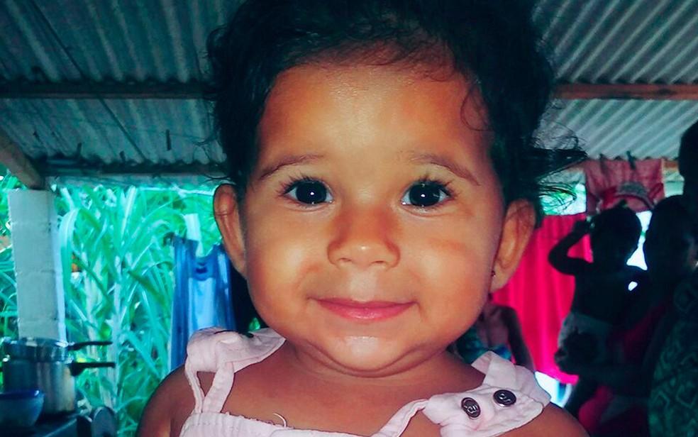 Thaiala Moraes foi atingida por disparo acidental na Bahia (Foto: Arquivo Pessoal)