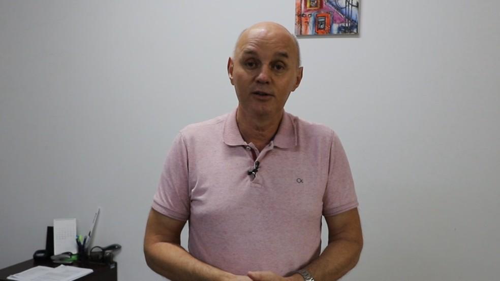 Prefeito de Matupá, Fernando Zafonatto (DEM) — Foto: Prefeitura de Matupá