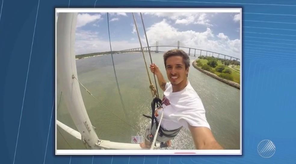 Rodrigo Dantas, 25 anos (Foto: Reprodução/TV Bahia)