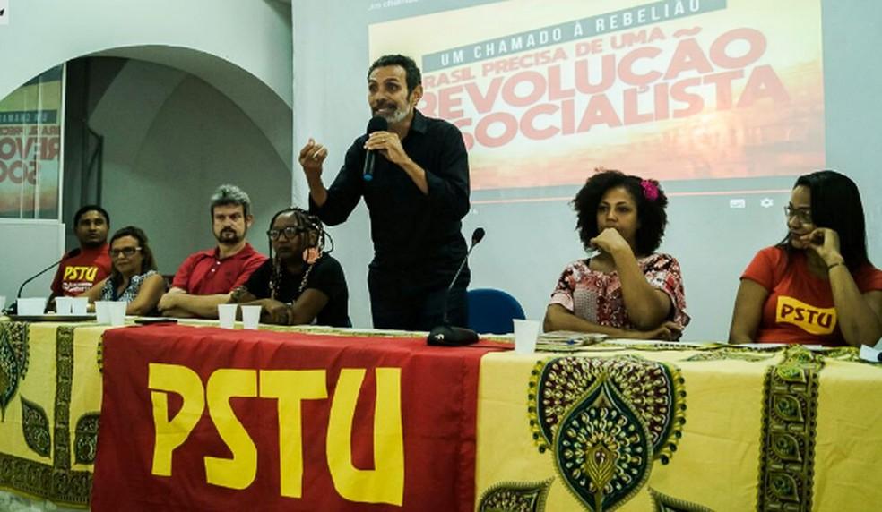 PSTU confirma candidatura de Ramon Zapata a governador do Maranhão durante convenção em São Luís (Foto: Divulgação/PSTU)