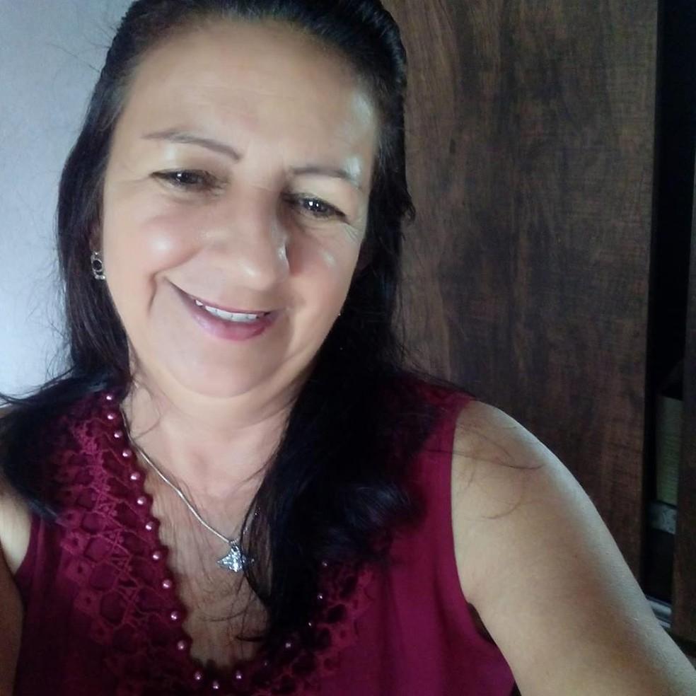 Irene Aparecida Borges, de 52 anos, foi morta pelo marido em Lavras (MG) — Foto: Reprodução/EPTV