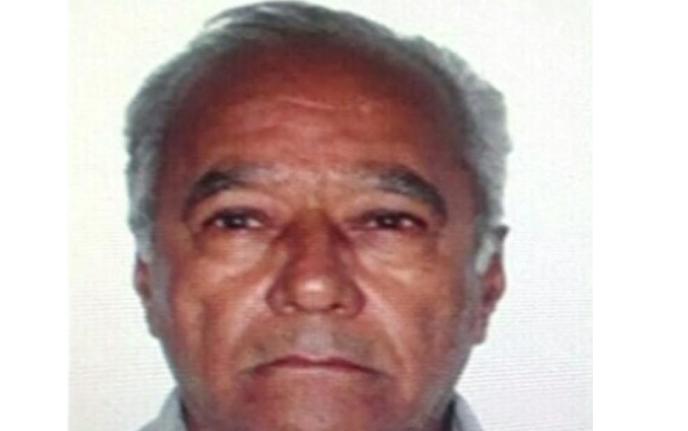 Taxista Iclorio Ferreira Franco foi morto com 18 facadas na zona rural de Jataí (Foto: TV Anhanguera/ Reprodução)