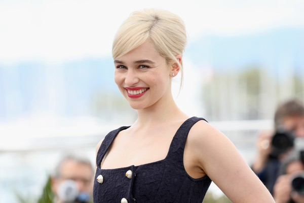 A atriz Emilia Clarke (Foto: Getty Images)