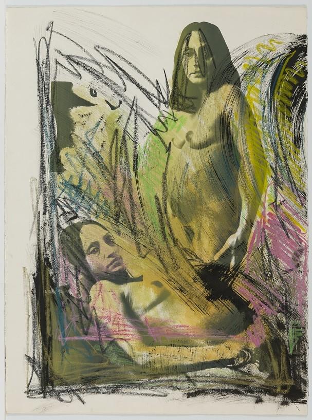 Waiting, 1982, obra de Josely Carvalho à mostra na exposição (Foto: Waiting, 1982, obra de Josely Carvalho à mostra na exposição)