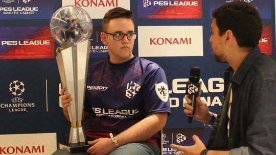 GuiFera fala sobre o título mundial no PES League 2017