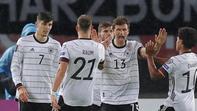 Müller Havertz gol Alemanha Macedônia do Norte