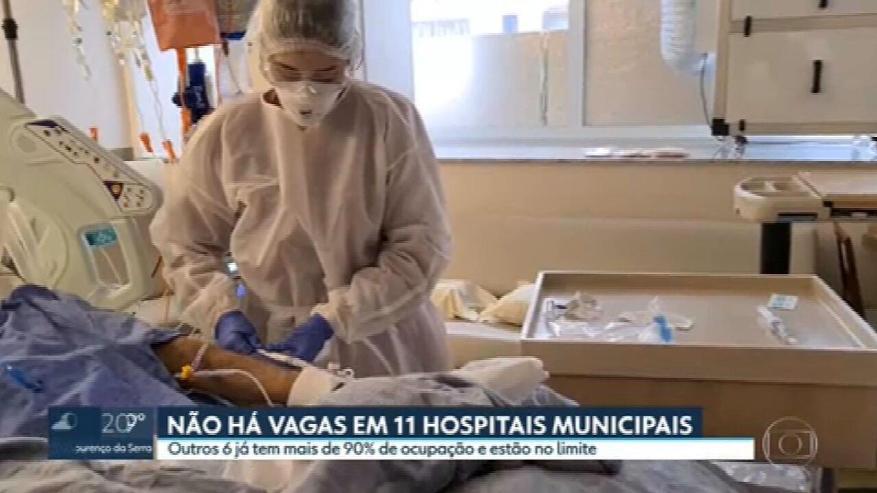 Não há vagas em leitos de UTI em 11 hospitais municipais de São Paulo