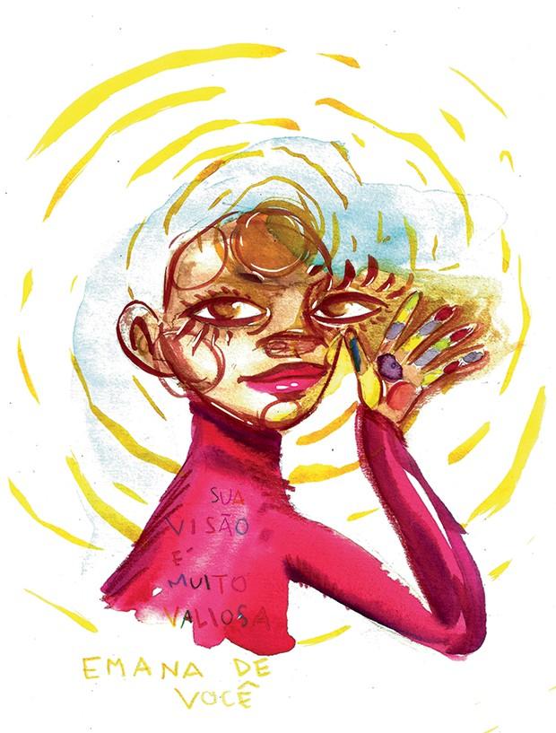 Ilustração de Larissa Santos Rocha (Foto: Divulgação)