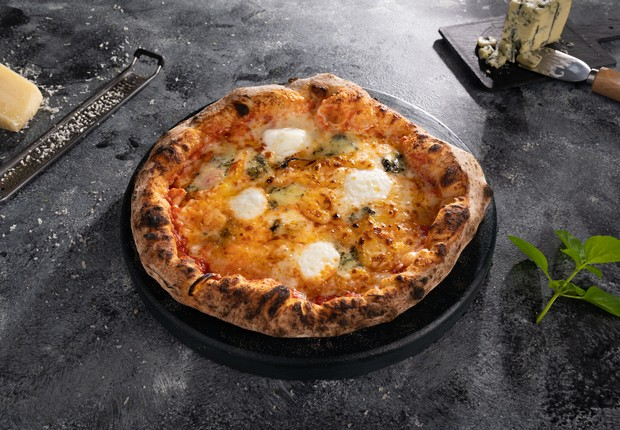Pizza da Brotto: nova submarca da Liv up (Foto: Divulgação Liv Up)