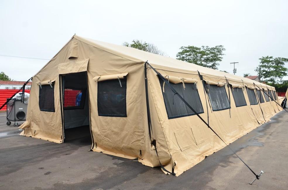 Após a pandemia, o hospital deve ficar a disposição para atender à população da região de Bacabal (MA) — Foto: Divulgação/Governo do Maranhão
