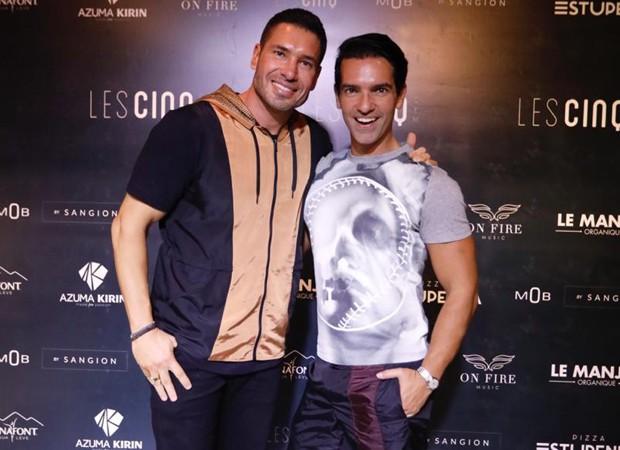 Rodrigo Sangion e Rapha Mendonça (Foto: Foto:  Divulgação)