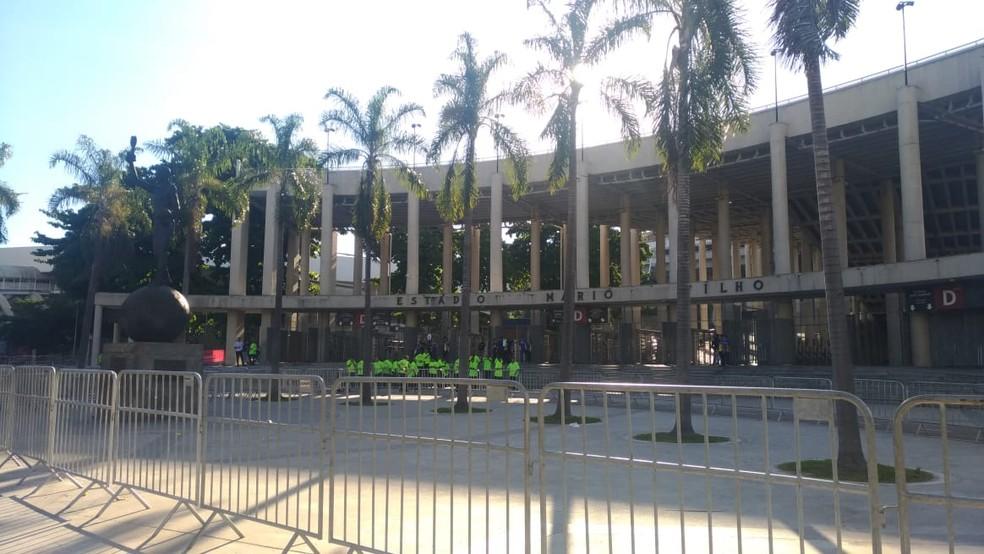 Maracanã receberá grande público na quarta-feira — Foto: Vicente Seda