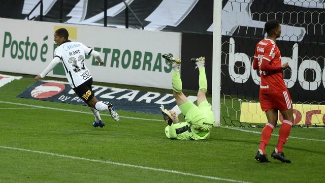 Davó comemora o gol marcado contra o Inter