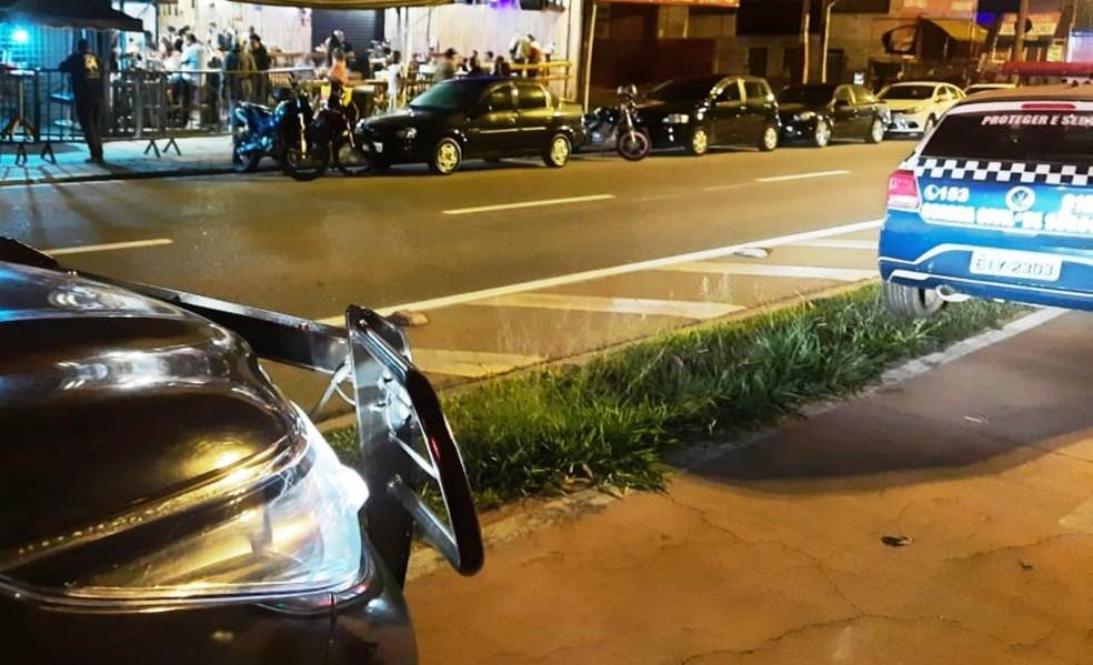 GCM acaba com aglomeração de 200 pessoas na zona oeste de Sorocaba— Foto: Prefeitura de Sorocaba/Divulgação