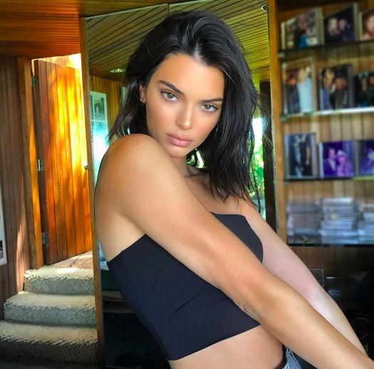 A modelo Kendall Jenner (Foto: Instagram)