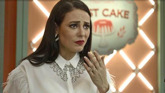 Vivi Guedes critica bolo de Maria da Paz durante Best Cake: 'Horrível!'