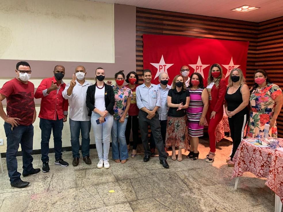 PT oficializa candidatura de João Magno à Prefeitura de Ipatinga — Foto: Repordução
