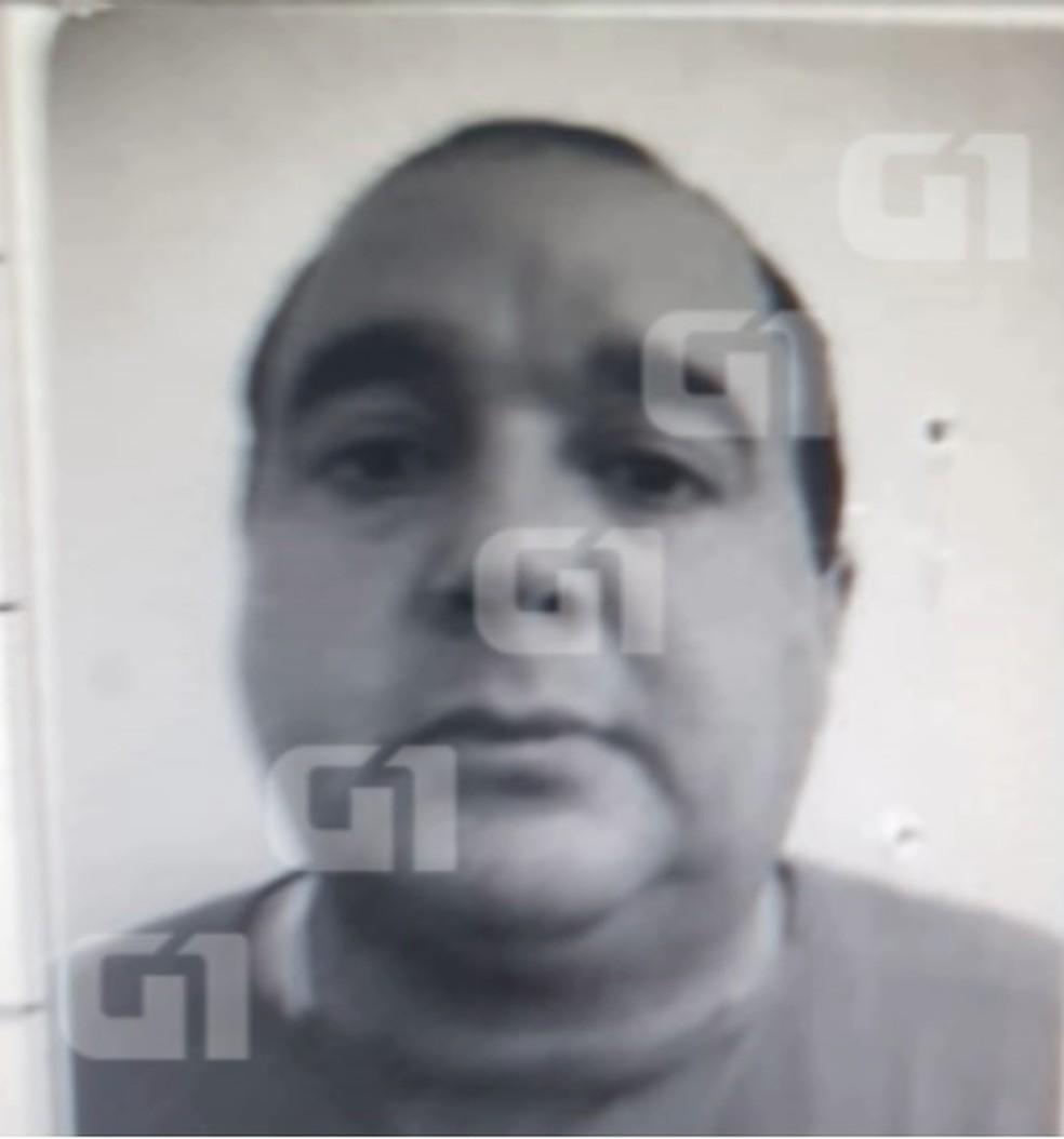 Carlos Eduardo dos Santos é suspeito de matar a menina Rachel Genofre e colocar o corpo em uma mala, em Curitiba — Foto: G1 PR