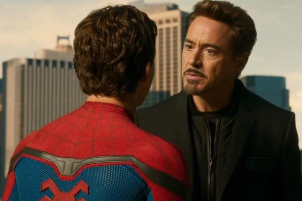 Robert Downey Jr. em Homem-Aranha: De Volta ao Lar (Foto: Reprodução )