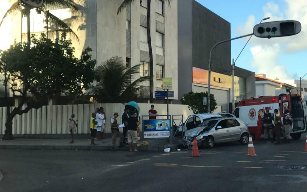 Profissionais de saúde terão que notificar casos de acidentes de trânsito — Foto: Alex de Paula/G1 Bahia