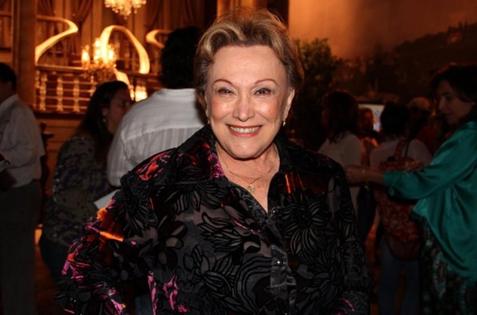 Nicette Bruno  — Foto:  Nathalia Fernandes / TV Globo