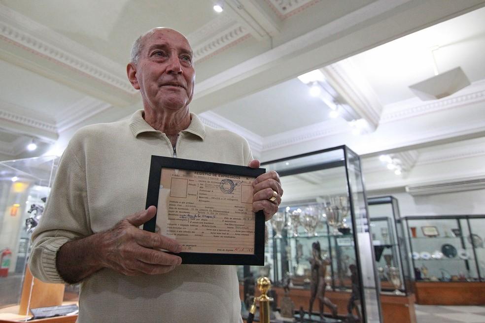 Gerson foi protagonista em uma das conquistas, em 1968 — Foto: Vitor Silva/Botafogo