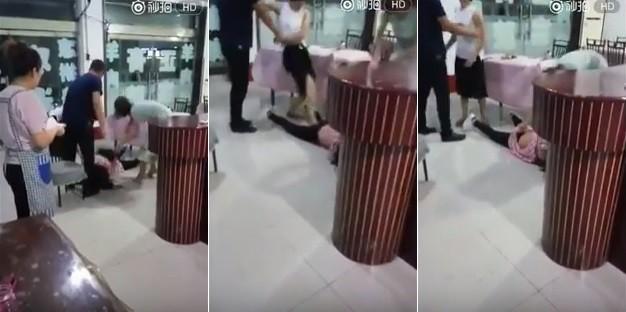 Amante é agredida em restaurante