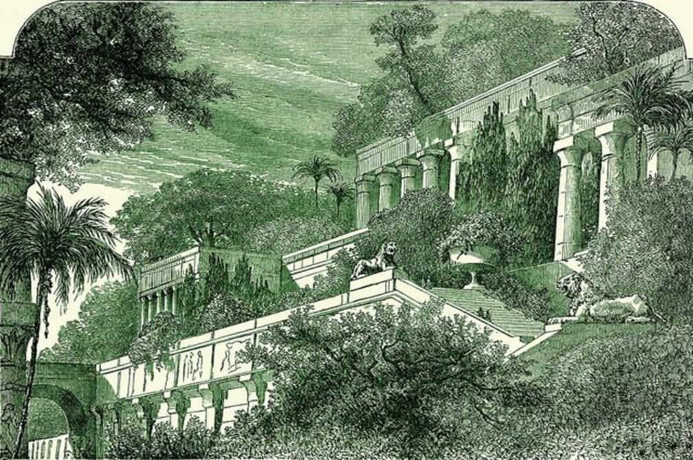 Não há evidências conclusivas de que os Jardins da Babilônia tenham existido — Foto: Getty Images via BBC