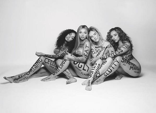 As cantoras do grupo inglês Little Mix (Foto: Instagram)