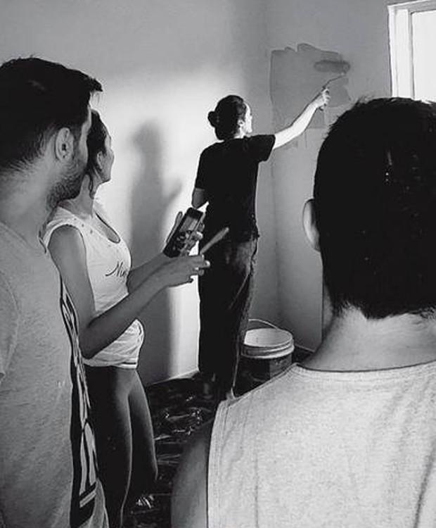 O projeto Casa 197 ajuda famílias em situações de vulnerabilidade (Foto: Instagram/ Reprodução)